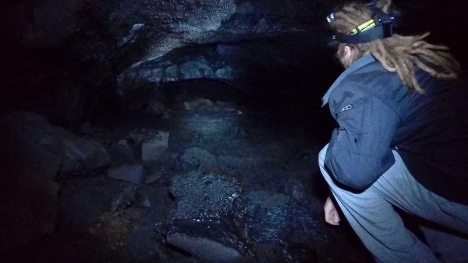 Surtshellir lava caves